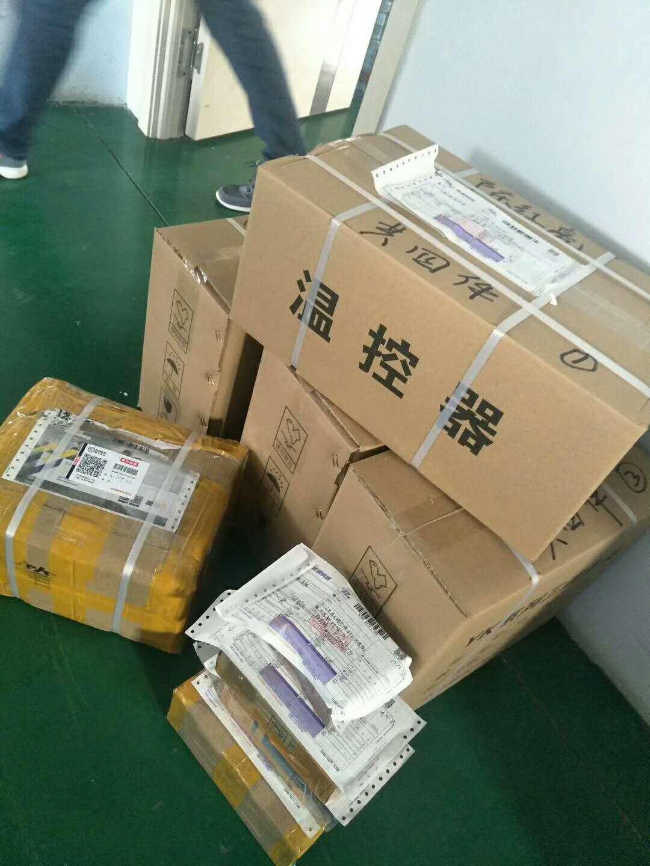4月26日发往天津50台温控器和300个三速开关